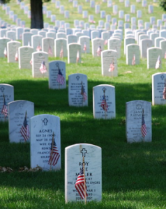 Graves at Arlington, Va.