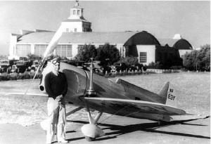 Brown Racer at airport