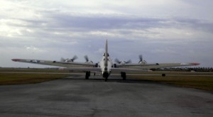 B-17 leaving Wings Over Miami
