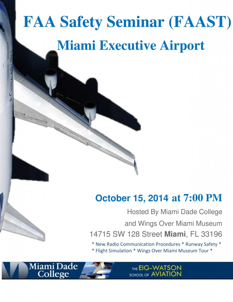 Mimai Dade College Event 10 15 14