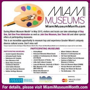 Miami Museum Month Information